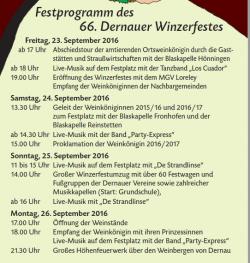 festprogramm 2016