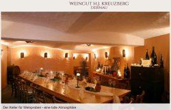 Weinprobe H.J.Kreuzberg